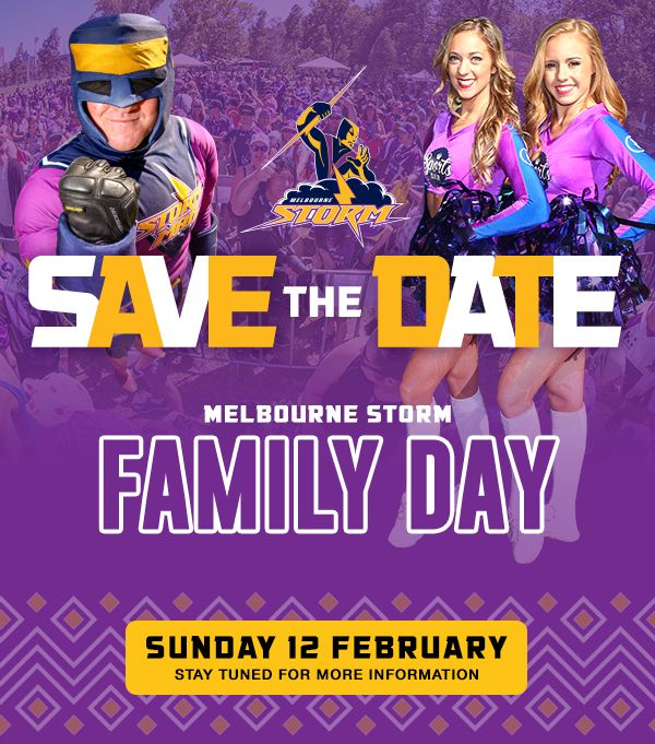 Storm Family Day: Sunday 12 February