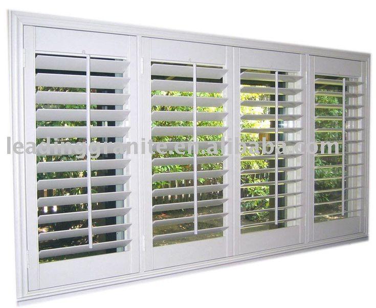 Best 25 wooden window shutters ideas on pinterest window shutters wooden shutter blinds and for Interior window security shutters