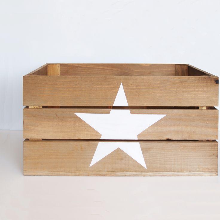 M s de 1000 ideas sobre cajas de madera pintada en for Cajas de madera blancas