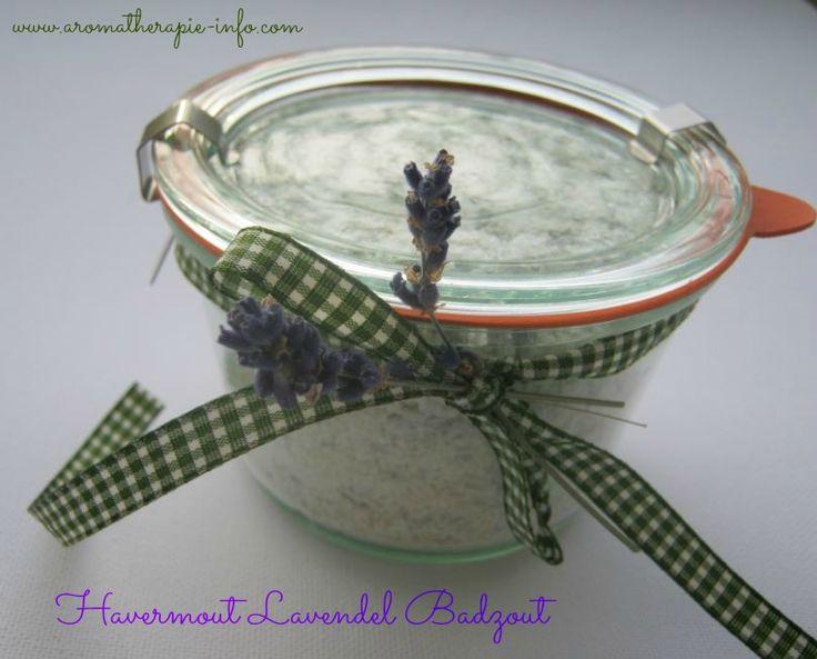 Dit havermout lavendel badzout recept zit vol met prachtige ingrediënten die zo goed zijn voor je lichaam en geest, dat je met dit badzout een een mini-spa van je badkamer maakt. Leuk in een weckpot als cadeau.