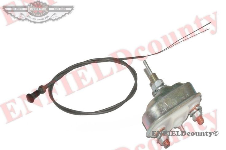 NEW ENGINE STARTER PRESTOLITE SWITCH+PULLING CABLE KNOB WILLYS FORD GPW MB @UK