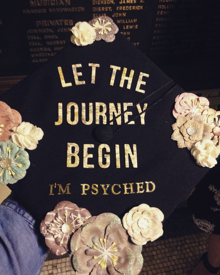 Graduation Cap #graduation #cap #design #psychology