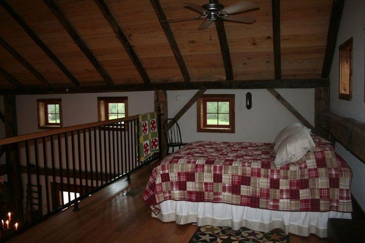 Barn Loft Bedroom Little Loft Bedroom In A Restored Old