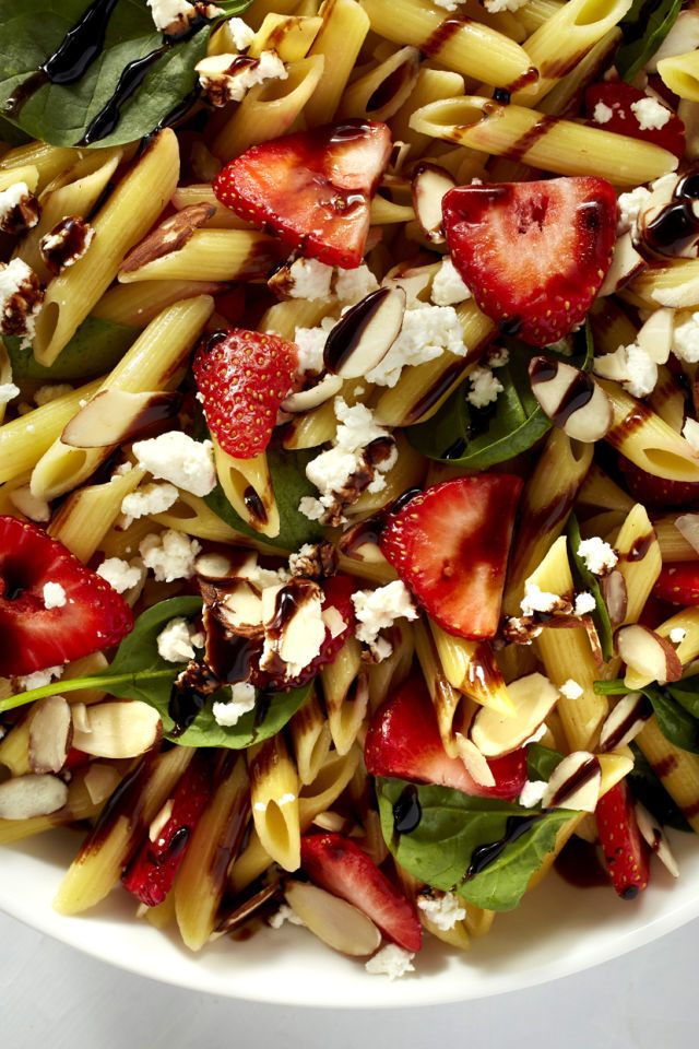 Sweet strawberries + balsamic glaze = a combination no one can resist. Get the recipe from Delish.
