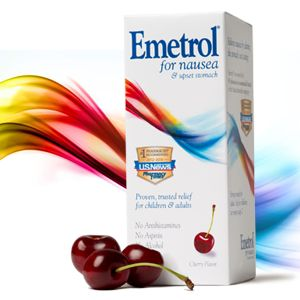 Emetrol is a trusted over-the-counter medication for relieving nausea associated with upset stomach