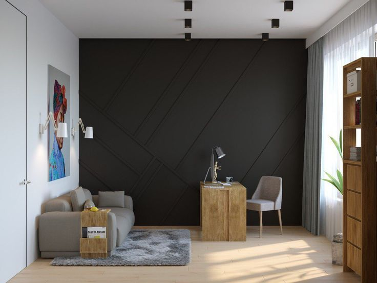 re:dis design_studio - МУЖСКОЙ ИНТЕРЬЕР В ЖК «ПРИВИЛЕГИЯ» : HousesDesign