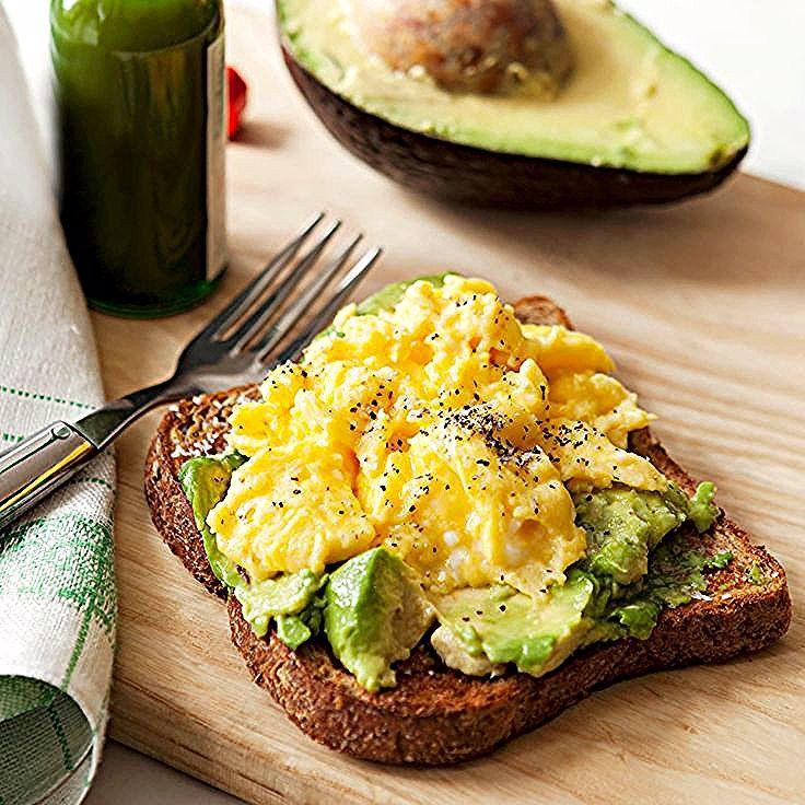 Egg Avocado Toast In 2020 Avocado Recipes Avocado Toast Egg Healthy Recipes