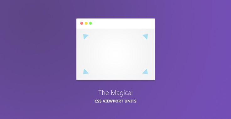 Simplify Your Stylesheets With The Magical CSS Viewport Units