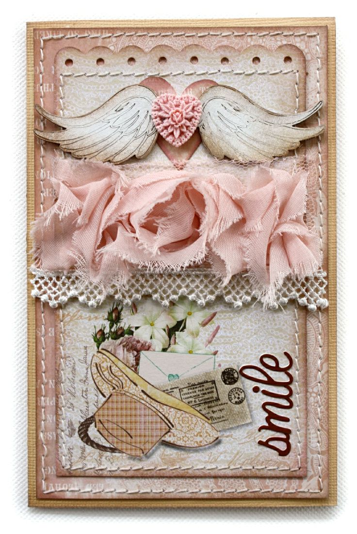 Scrapbook ideas with ribbon - Gabriellep S Gallery Smile Card Websters Pages Western Romance