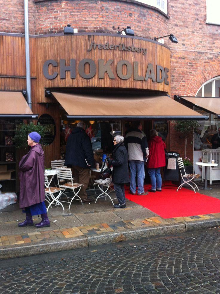 Frederiksberg Chokolade celebrating their 90. Birthday!
