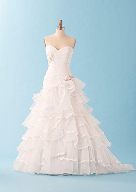 Tiana inspired wedding dress by Disney | something old ...