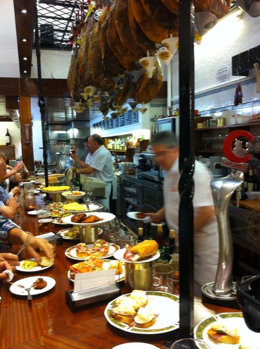Wonderful Tapas in San Sebastian, Spain