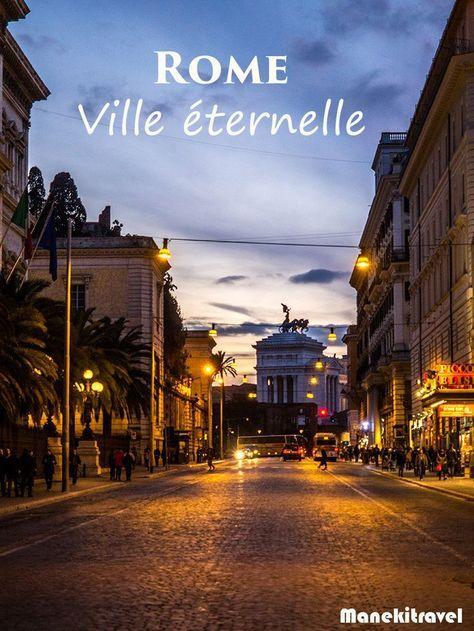 Citytrip à Rome #italie #voyage #rome
