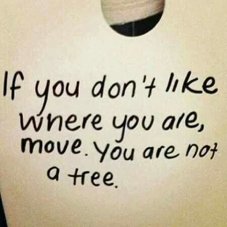 You are NOT  a tree!!