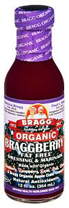 BRAGGBERRY B= Blueberry R= Raspberry A= Acai Berry G= Goji Berry G= Grape  20 calories per (2) Tablespoons! ...and it's awesome, it's all that I use!