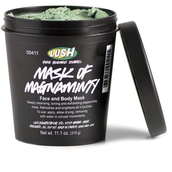 ⭐️ Mask of Magnaminty Cleanser -LUSH Cosmetics... This face mask is so good