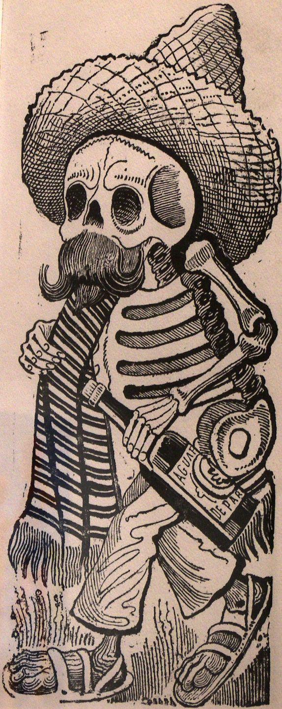 Jose Guadalupe Posada,  Calavera De Madero,  1910