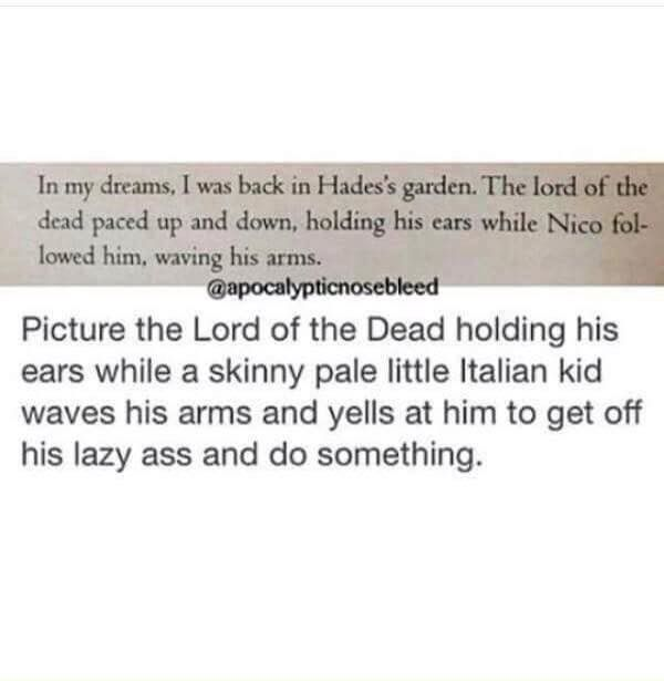 My heart burst with joy every time I see The son of Hades/Nico di Angelo/Nico/Ghost king