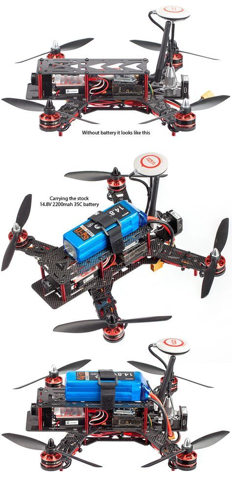 STORM Racing Drone GPS (RTF / NAZA Lite) http://www.helipal.com/storm-racing-drone-gps-rtf-naza-lite.html with battery before & after