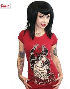 Tattoo Your Soul Tee by TOO FAST