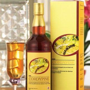 Cordypine succo di Ananas e Cordyceps fermentato in modo naturale