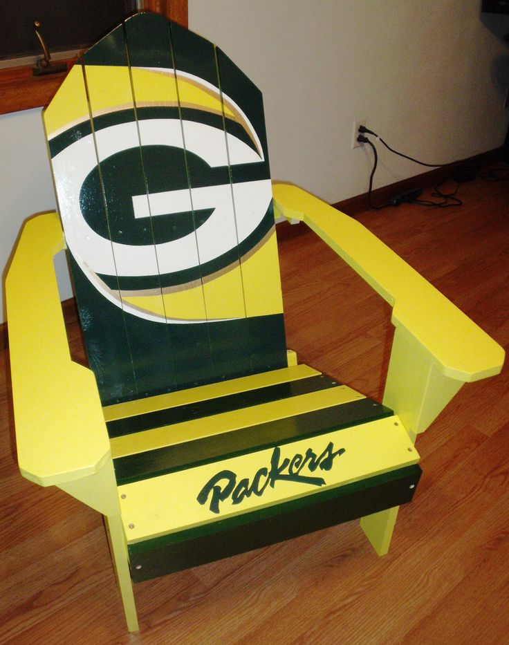 Chair Sale, Painted Chairs, Adirondack Chairs, Green Bay Packers, Minnesota  Vikings, Bays