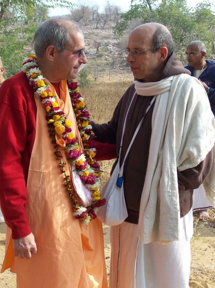 Giriraj Swami and Bhurijana Das