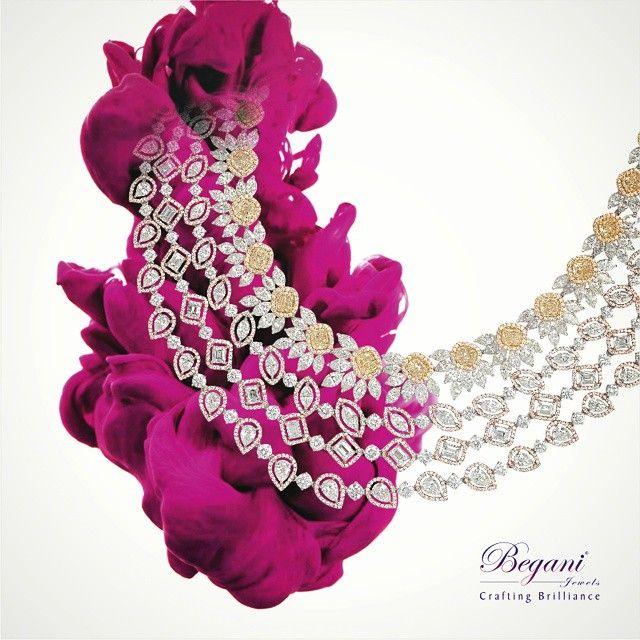 #beganijewels #begani_jewels #jewellery #jewels #instajewelry #investment #jewelrygram #fashion #style #necklace #neckpiece #designer #brilliance#yellowdiamonds #canary-diamonds