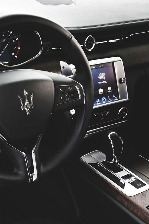 Maserati. Italian #luxury #car manufacturer.