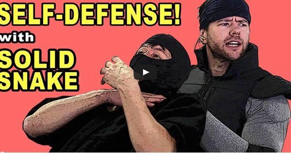 Auto-defesa com Solid Snake