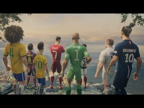 The Last Game Animated Ad By Nike Featuring Ronaldo, Neymar Jr, And More - #Nike #Ronaldo #Soccer #animation