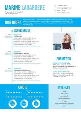 Un CV très créatif #CV