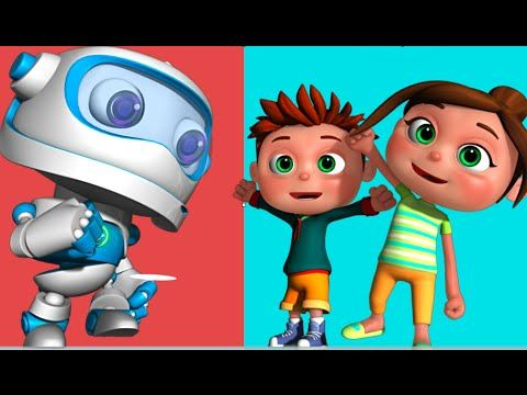 Robot Song | Kids Songs & Nursery Rhymes | Videogyan 3D Rhymes - YouTube
