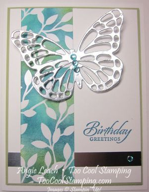 Irresistibly Yours Silver Butterfly Pear Pizzazz, Island Indigo and Coastal Cabana Ink