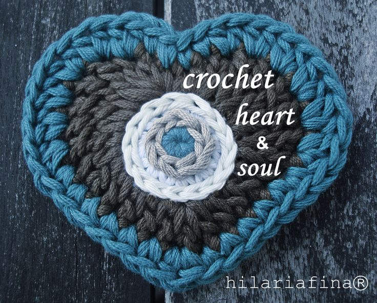 Crochet Heart and Soul ❥ 4U // hf
