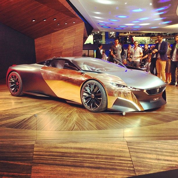 Lovely A Fantasy In Copper, Carbon Fiber And Recycled Newspaper: The @Peugeot #Onyx  Supercar Concept | THATS MY CAR!!! Remember This Game?? Photo