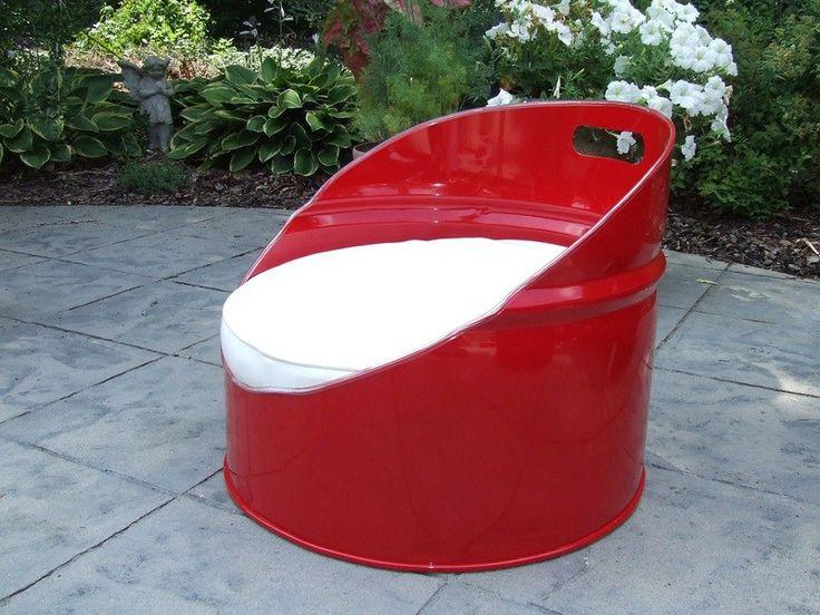 Best 20 55 Gallon Steel Drum Ideas On Pinterest 55 Gallon Drum Steel Drum And Barrel Furniture