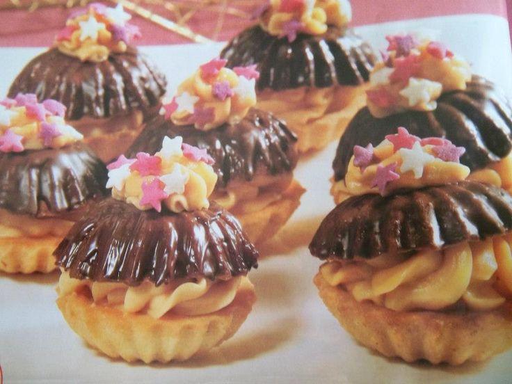 Bábovičky s karamelovým krémem a jiné recepty na cukroví