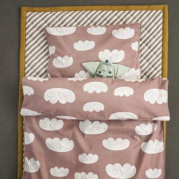 Ferm Living Cloud Kinderbettwäsche, rosa #Bettwäsche #Kinder #Wolken #Bettbezug #Schlafen #Kinderzimmer #Galaxus