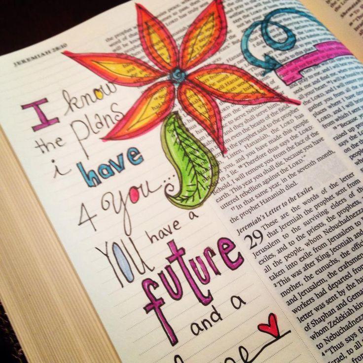 from Sandra Kaye, Journaling in Bible