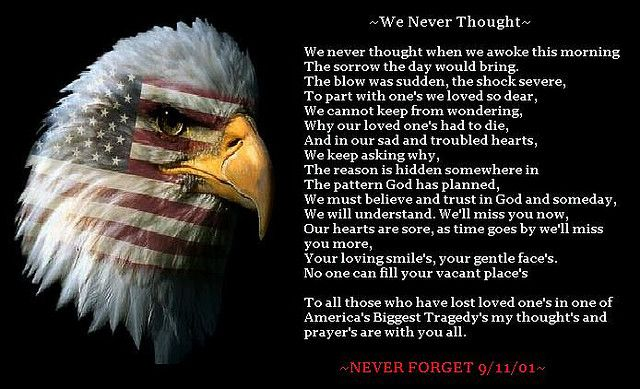 Poems About 9 11 01 | We never thought ~ poem (9-11-01) | Flickr - Photo Sharing!