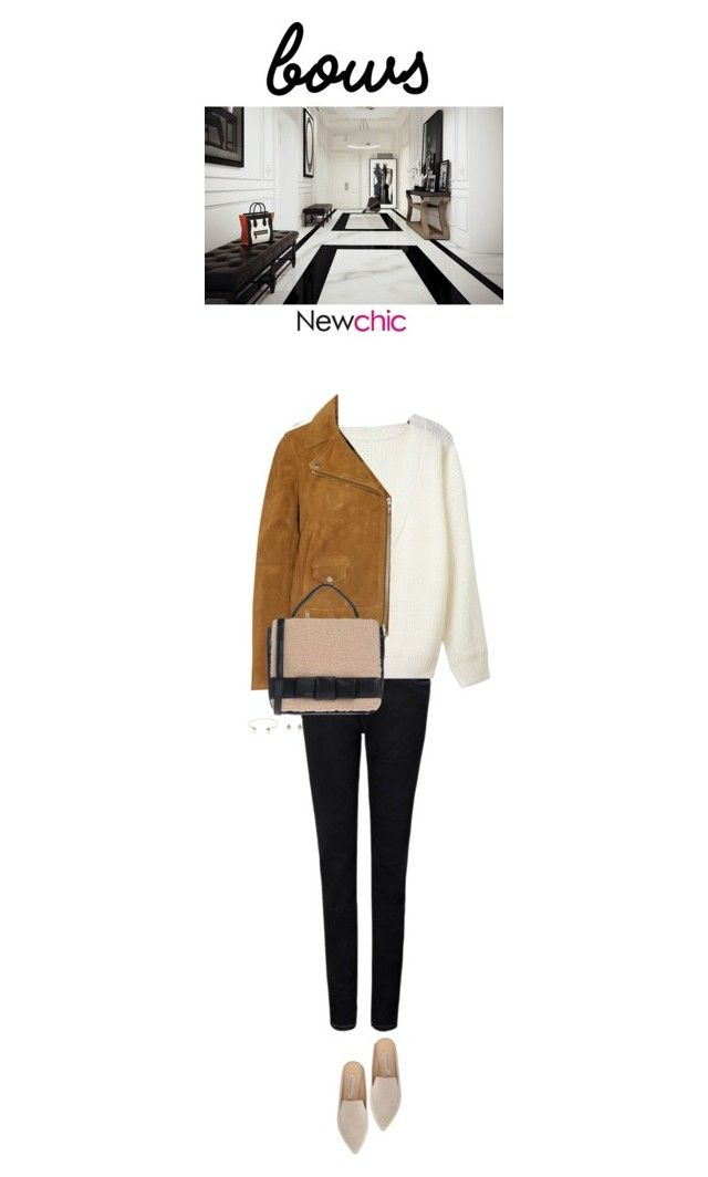 """""""Newchic"""" by s-thinks ❤ liked on Polyvore featuring Madewell, Camomilla, Kristin Cavallari and bows"""