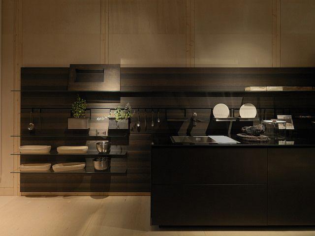 Riciclantica Inox Touch and Rovere Tattile Millenium Boiserie