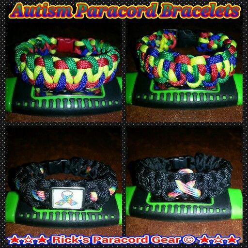 Autism Paracord Bracelets Rick S Gear Pinterest And Projects