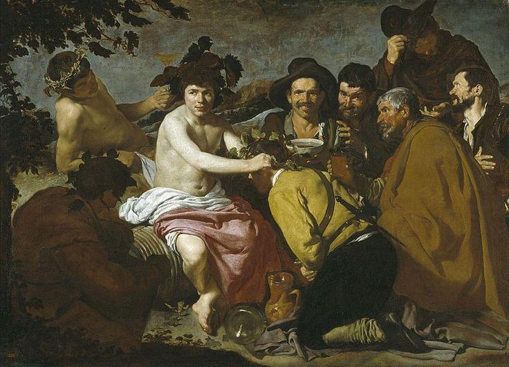 Velázquez - El Triunfo de Baco o Los Borrachos (Museo del Prado, 1628-29) - Diego Velázquez - Wikipedia, la enciclopedia libre