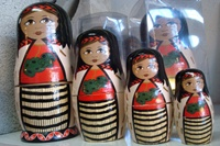 Our kiwiana version of the stacking dolls