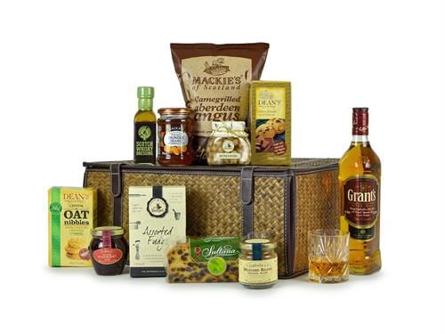 Aberdeen Angus Gift Basket - Highland Fayre Artisan Hampers: Find out more at: http://scripts.affiliatefuture.com/AFClick.asp?affiliateID=327716&merchantID=4675&programmeID=12149&mediaID=0&tracking=&url= #Food Hampers #Food Baskets #Scottish Hampers