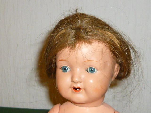 1 of 1: Alte SCHILDKRÖTPUPPE 310/35 Schildkröt Puppe mit Haaren 36cm Puppen Dolls Doll