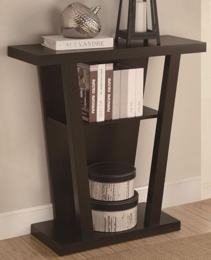 Console Accent Table Contemporary Entryway Livingroom Modern Manhattan Furniture | eBay