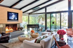 5 celebrity living rooms we're loving right now